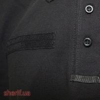 Футболка поло черная Полиция-9