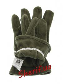 Перчатки флис Polarex Olive-2