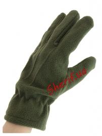 Перчатки флис Polarex Olive-3