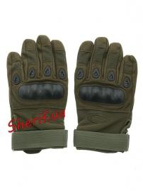 Перчатки тактические Oakley FF+плас.кост. Olive