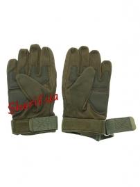 Перчатки тактические Oakley FF+плас.кост. Olive-2