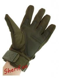Перчатки тактические Oakley FF+плас.кост. Olive-4