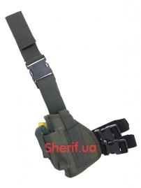 Кобура набедренная штурмовая LT(оксфорд олива) левосторонняя