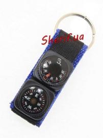 Компас на тренчике+термометр К-22