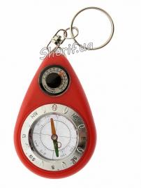 Компас TSC-12 брелок с термометром, 01722