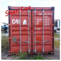 Морской 20 футовый (тонный) контейнер