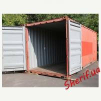 Морской 20 футовый (тонный) контейнер 4