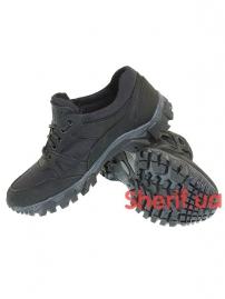 Комбинированные кроссовки на мембране Black (6)
