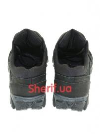 Комбинированные кроссовки на мембране Black (6)-5