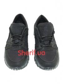Комбинированные кроссовки на мембране Black (6)-2