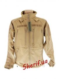 Куртка тактическая MIL-TEC SoftShell Coyote