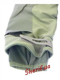 Куртка тактическая SoftShell Olive-5