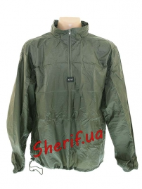 Куртка-ветровка MIL-TEC с чехлом Olive