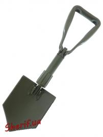 Лопата складная MIL-TEC TSR Olive, 15520100