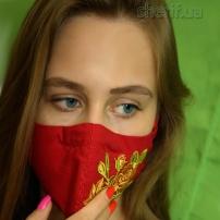 maska-mnogorazovaya-red-rose-s-fiksatorom-na-nosu-model-6-34
