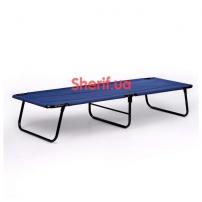 Раскладушка «Стандарт» синяя 196х63 см
