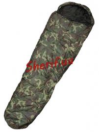Мешок спальный MIL-TEC 2-слойный  Woodland (-10C)