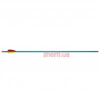Стрела для лука Man Kung  алюминий ц:голубой