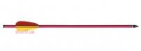 Стрела для винт.арбалета Man Kung,алюминий, ц:красный