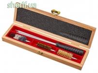 Набір для чистки MEGAline 12к. Дерев'яна коробка Алюминий
