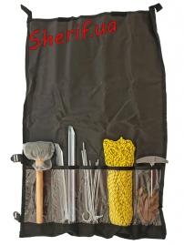 Набор для крепления палатки MIL-TEC (колышки, молоток и др.)