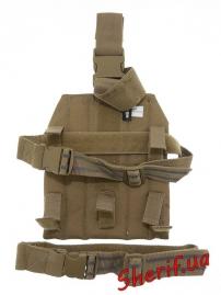 Платформа (накладка) на ногу MIL-TEC модульная Coyote, 13484005-3