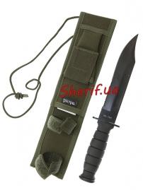 Нож MIL-TEC Army Combat Knife With Sheath OD