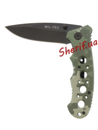 Нож MIL-TEC One-hand Knife Perforated Grip ACU-7