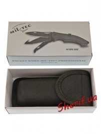 Нож MIL-TEC Pocket Knife With Lock Black-6