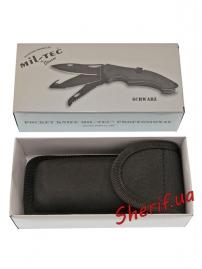 Нож MIL-TEC Pocket Knife With Lock Black-6