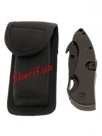 Нож MIL-TEC Pocket Knife With Lock Black-7