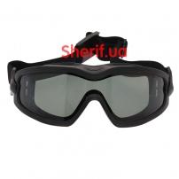 Очки защитные Pyramex V2G-PLUS (черные)-4