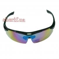 Очки защитные Sposline Polarized 5-lens Kit Black
