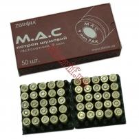 Купить в Днепре Патрон холостой ZBROIA M.A.C. (пистолетный, 9 мм) 1шт