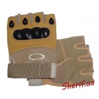 Перчатки беспалые Oakley TAN