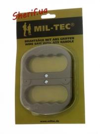 Пила MIL-TEC струнная с пластиковыми ручками, 15502500