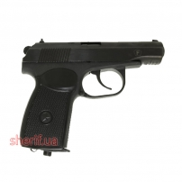 Пистолет пневматический МР-654К (Серия 28,черная рукоять) Байкал