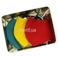 Подарочный набор масок №5 (желтый, красный, аквамарин)