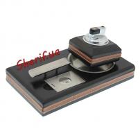 Подарочный сигарный набор (зажигалка, пепельница, резак для сигар) Calibri TBL