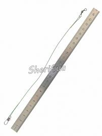 Поводок Spinway 20 см 0,45 мм 9,5 кг