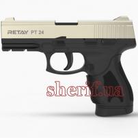 R506980S Пистолет стартовый Retay PT24 кал. 9 мм. Цвет - satin.