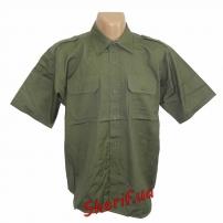 Рубашка MIL-TEC с кор. рук. Rip-Stop Olive, 10915101