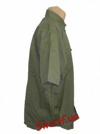 Рубашка MIL-TEC с кор. рук. Rip-Stop Olive-2