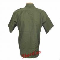 Рубашка MIL-TEC с кор. рук. Rip-Stop Olive-3