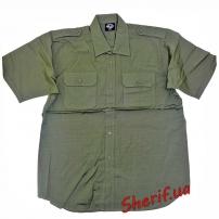 Рубашка MIL-TEC с кор. рук. Rip-Stop Olive-4