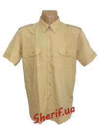 Форменная рубашка MIL-TEC с корот. рук. Khaki