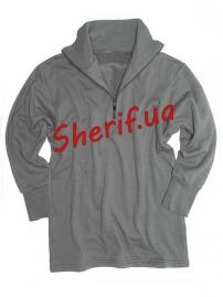 Рубашка MIL-TEC трикотажная зимняя с молнией Foliage