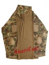 """Рубашка тактическая MIL TEC """"Warrior"""" Woodland-Arid-4"""