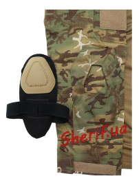 """Рубашка тактическая MIL TEC """"Warrior"""" Woodland-Arid-5"""