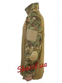 """Рубашка тактическая MIL TEC """"Warrior"""" Woodland-Arid-2"""